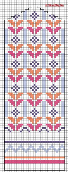 (notitle) - Pattern with colours - Cross Stitch Horse, Cross Stitch Charts, Cross Stitch Embroidery, Hand Embroidery, Cross Stitch Patterns, Knitted Mittens Pattern, Knit Mittens, Knitting Socks, Hand Knitting