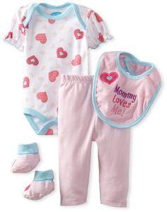 BON BEBE Baby-Girls Newborn Mommy Loves Me Strawberry and Hearts 4 Piece Pant Set, Pink/Cotton Candy/White, 0-3 Months Bon Bebe,http://www.amazon.com/dp/B00BQA8LJK/ref=cm_sw_r_pi_dp_p920rb0YEYMTRWE5