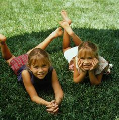 Mary Kate and Ashley Olsen full house