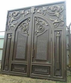 Одноклассники Дизайн Двери, Дизайн Экстерьера, Железные Ворота, Окна, Arquitetura, Железные Двери, Портал, Кованое Железо