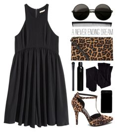 """""""//I realised that without you here life is just a lie//"""" by the-key-to-my-heart ❤ liked on Polyvore featuring H&M, MICHAEL Michael Kors, Kenzo, NARS Cosmetics, T3 and mytopandfeaturedsets"""