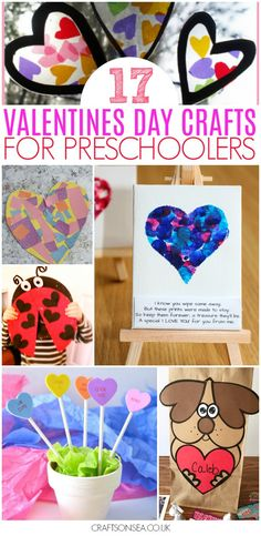 valentines day crafts for preschool easy