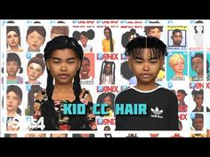 Toddler Hair Sims 4, Sims Baby, Around The Sims 4, Sims New, Sims 4 Cc Eyes, Sims 4 Black Hair, The Sims 4 Packs, Sims 4 Collections, Sims 4 Characters
