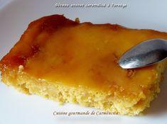 Gâteau à l'ananas caramélisé à l'orange
