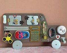 Toys made of wood, educational games, activity Board, car made of wood, hand made