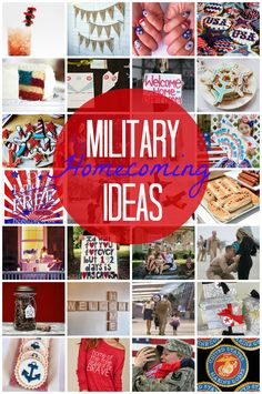 20 Military Homecoming Ideas