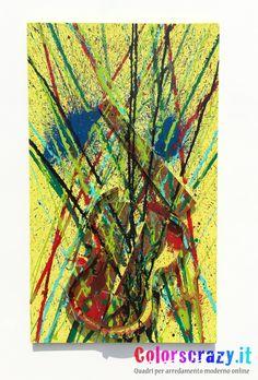 Quadro moderno - Tributo ad Arman Fernandez - Acquista su www.colorscrazy.it