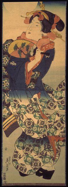 Keisai Eisen: Geisha in Moonlight - Legion of Honor