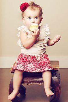 baby. cupcake. ruffles. everything i love.
