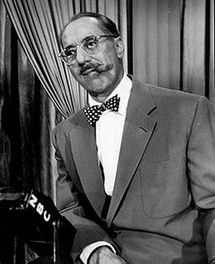 Groucho Marx - One of my favorite bow tie wearing men.