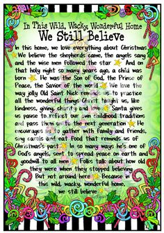 We Still Believes (Christmas) 8x10 Gifty Art