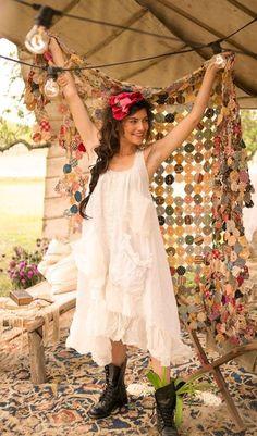 Jo Jo Quilt Magnolia Pearl OAK Piece unique dispo en Boutique www.jadorevraimentca-boheme.design