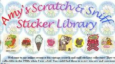Amy's Scratch & Sniff Sticker Library
