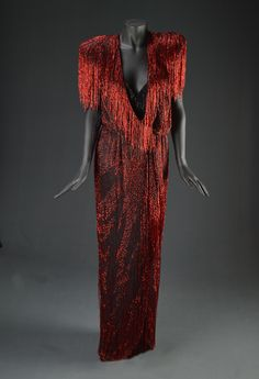 Susan Anton, Unknown Performance, Circa 1980, Designed by Bob Mackie, The Collection of Motion Picture Costume Design: Larry McQueen
