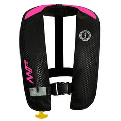 Mustang M.I.T. 100 Inflatable PFD - Automatic - Pink/Black - https://www.boatpartsforless.com/shop/mustang-m-i-t-100-inflatable-pfd-automatic-pinkblack/
