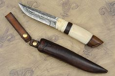 nordic knife gallery | Mammoth and Ironwood Puukko