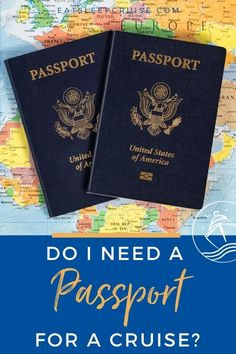 Do I Need a Passport to Go on a Cruise? We explain when you need a passport to go on a cruise and weigh in on why it is always recommended to cruise with one. #cruise #cruisetips #cruiseplanning #travel #eatsleepcruise Packing List For Cruise, Cruise Tips, Cruise Travel, Cruise Vacation, Vacations, Cruise Excursions, Cruise Destinations, Bahamas Cruise, Caribbean Cruise
