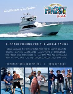 Beach Jeep, Destin Fishing, Charter Boat, Fishing Charters, Panama City Beach, Amazing Adventures, Letting Go, Schedule, Lets Go