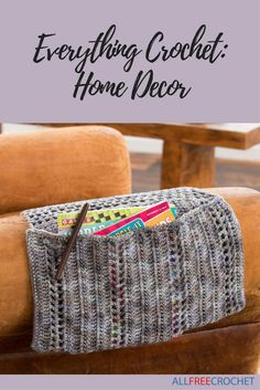 You can create so many amazing crochet projects for your home, from pillows to throws, try them all.