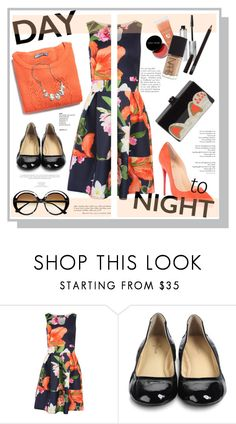 """Fresh Spring Look: Day to Night"" by sportsonista ❤ liked on Polyvore featuring Pilot, Cole Haan, Edie Parker and Marni"