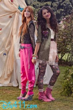 "Bella Thorne And Zendaya ""Fashion Is My Kryptonite"" Music Video"