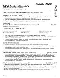 3 types of resumes to consider