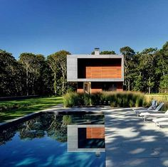 ARCHITECTURES >>> Pryor House par Bates Masi Architects, NY. - Journal du Design