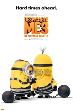 Despicable Me 3 - life in prison -> https://teaser-trailer.com/movie/despicable-me-3/ #DespicableMe3Movie #minions