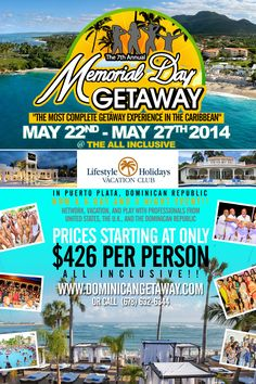 memorial day getaway deals