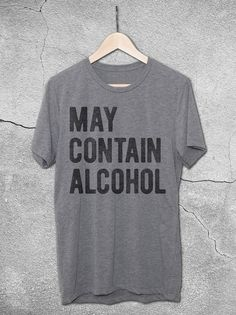 May Contain Alcohol Shirt | Funny Vintage-Style Graphic Tees – Cool gifts For Dad - Fathers Day Gift Ideas - Dad Shirts