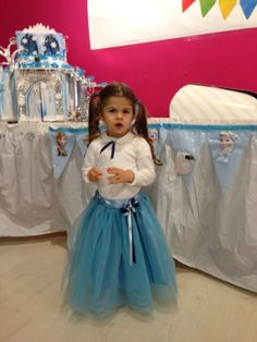 Princess Carola at her 3rd Birthday Party inspired by frozen