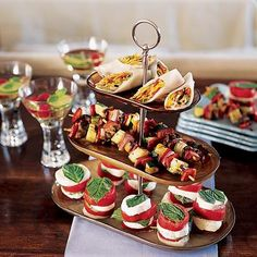 Southern Living at Home Brunch Recipes, Appetizer Recipes, Southern Living Homes, Birthday Brunch, Food Stations, Tasty, Yummy Food, Christmas Cocktails, Appetizers For Party