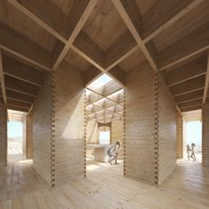 Since 1998 the Web Atlas of Contemporary Architecture Tectonic Architecture, Timber Architecture, Museum Architecture, Architecture Details, Architecture Drawings, Prefab Buildings, Prefabricated Houses, Archdaily Mexico, Portable House