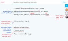 Poetica. Proposer un texte à la correction #orthographe #dictionnaire #correcteur #francais