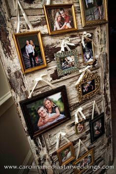 Photo Wall, I love the door...