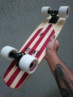 Handmade cruiser skateboards