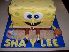 my sweet style- spongebob cake                   you can fined me on facebook