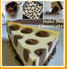 Cheesecake a pois http://incucinaconleimarysol.blogspot.it/2013/09/cheesecake-pois.html?spref=fb