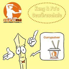 Kung & Fu's #Gewürzschule: #Currypulver — Kung Fu - Wok | Reis | Nudeln