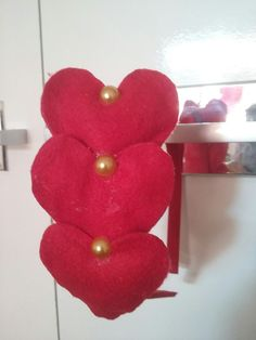 Tiara três corações