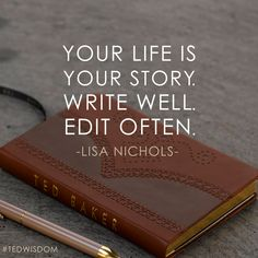 Here is a great quote from Lisa Nichols