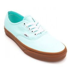 Vans Authentic Brushed Twill Shoes ($38) ❤ liked on Polyvore featuring shoes, vans footwear and vans shoes