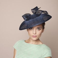Gina Foster Millinery - Pero - Medium Hat with Bow