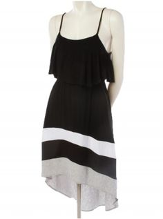 Comfort, style, and trend=all in one Casual Dresses, Summer Dresses, Color Blocking, New Look, Vanity, Comfort Style, Clothes For Women, Denim, My Style
