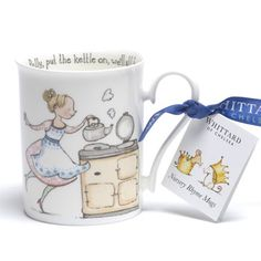 Annie's Tea Time: Whittard Polly Put the Kettle On Mug
