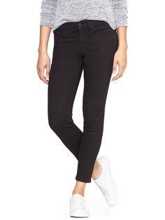 1969 black legging skimmer jean