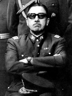 Augusto José Ramón Pinochet Ugarte. Army General and dictator of Chile from 1973 until transferring power to a democratically elected president in 1990.