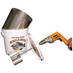 for use with your electric drill 1 Bear Paw Power Drive GFS FISH SCALER NEW
