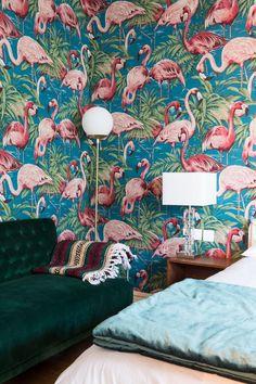 La chambre de l'appartement de Camille Omerin, la créatrice de Maison Père