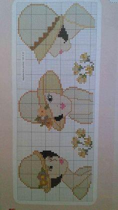 Cross Stitch Bookmarks, Cross Stitch Kits, Cross Stitch Designs, Cross Stitch Embroidery, Cross Stitch Patterns, Needlepoint Stitches, Needlework, Bonnet Pattern, Knitting Charts